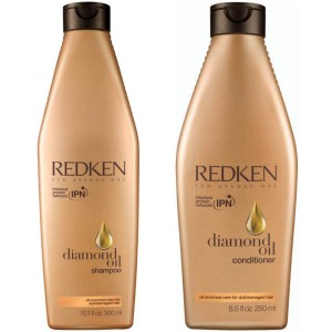 diamond oil shampoo conditioner
