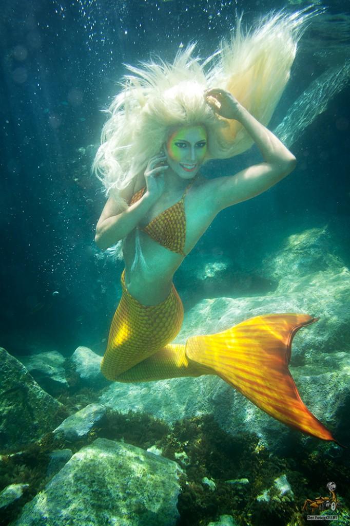 AngelaFaryes mermaid shoot FRDK hair salon